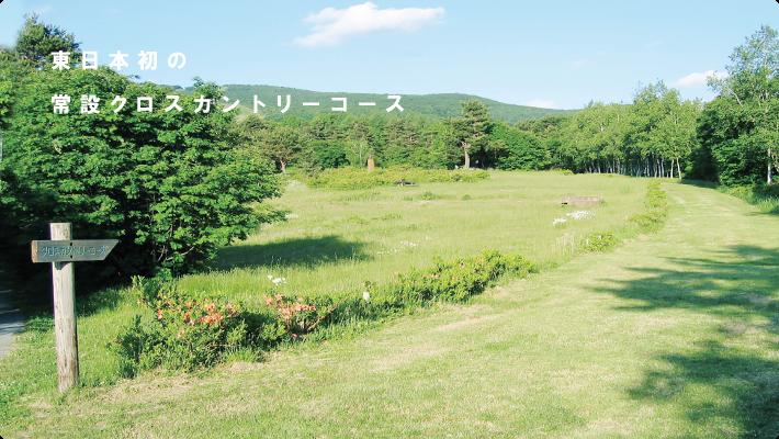 東日本初の常設クロスカントリーコース